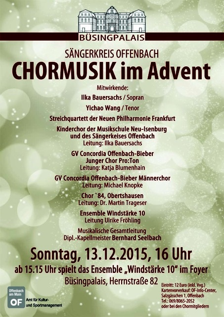 Chor im Advent