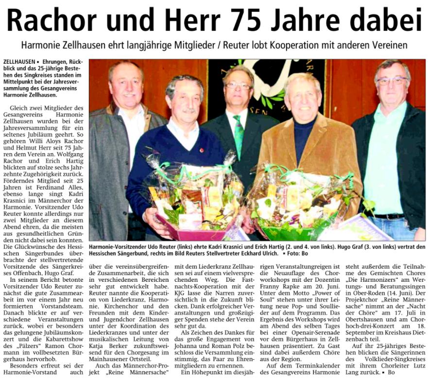 Harmonie Zellhausen