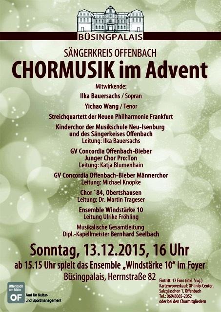 Chor im Advent